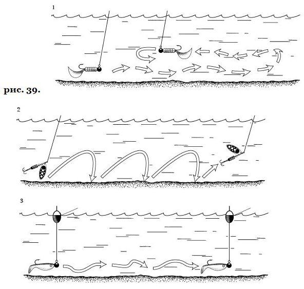 Способы проводки для рыбалки